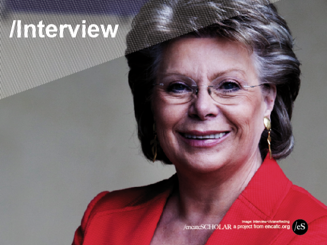 Interview with EU Justice Commissioner Viviane Reding…